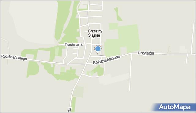 Piekary Śląskie, Mielęckiego Józefa, mapa Piekary Śląskie