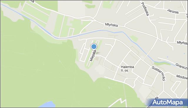 Ruda Śląska, Miejska, mapa Rudy Śląskiej