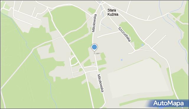 Ruda Śląska, Mikołowska, mapa Rudy Śląskiej