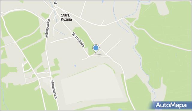 Ruda Śląska, Miła, mapa Rudy Śląskiej