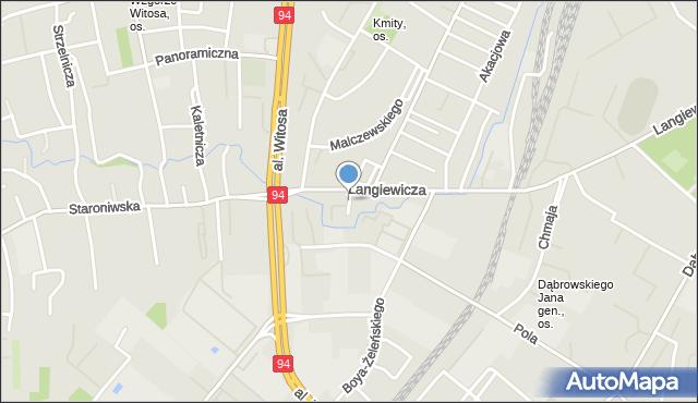 Rzeszów, Miedziana, mapa Rzeszów