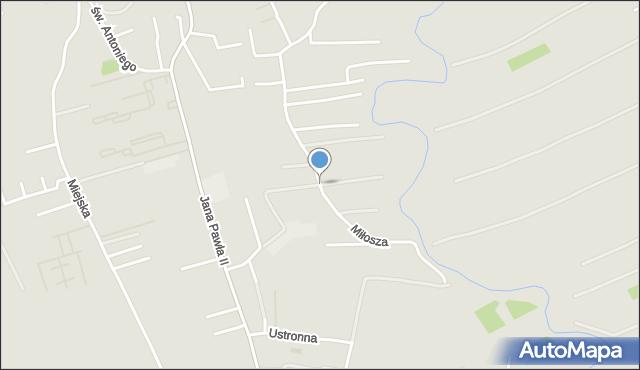Rzeszów, Miłosza Czesława, mapa Rzeszów