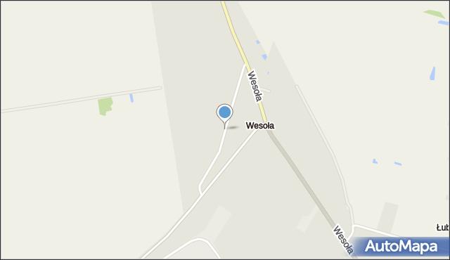 Sokołów Podlaski, Miła, mapa Sokołów Podlaski