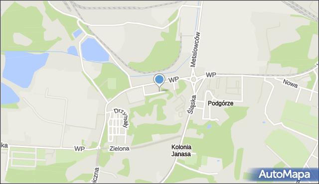 Świętochłowice, Mielęckiego Andrzeja, mapa Świętochłowice