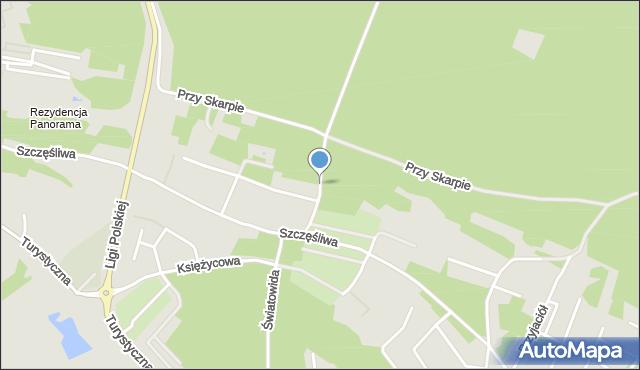 Toruń, Mistrza Twardowskiego, mapa Torunia