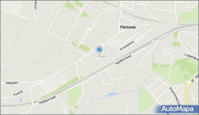 Chełm, Młynarska, mapa Chełma