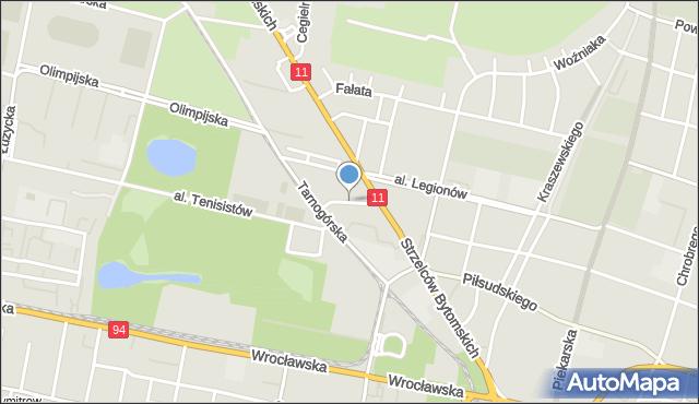 Bytom, Morcinka Gustawa, mapa Bytomia
