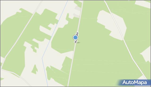 Dobrzyjałowo, Motycka, mapa Dobrzyjałowo
