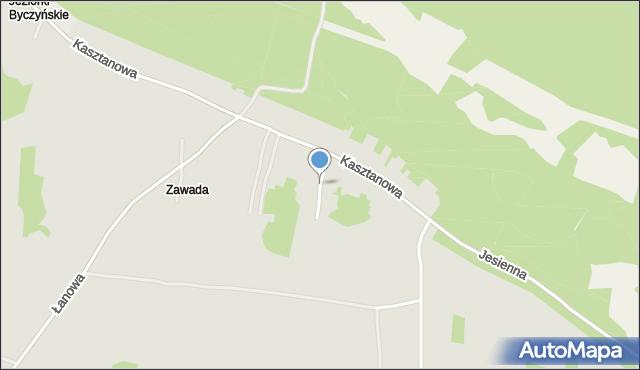 Jaworzno, Morgowa, mapa Jaworzno