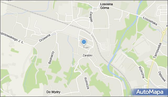 Limanowa, Modrzejewskiej Heleny, mapa Limanowa
