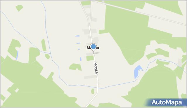 Motyka, Motyka, mapa Motyka