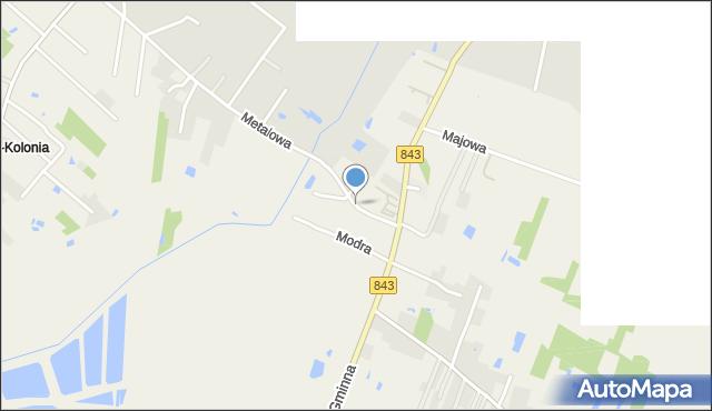 Pokrówka, Mostowa, mapa Pokrówka