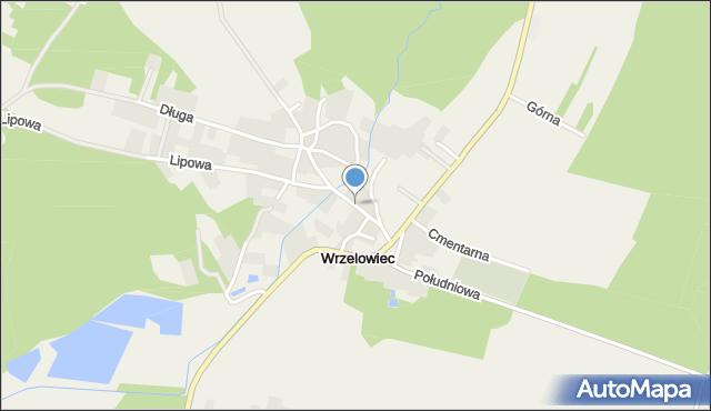 Wrzelowiec, Mostowa, mapa Wrzelowiec