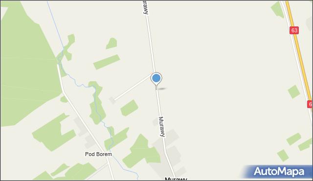 Murawy, Murawy, mapa Murawy