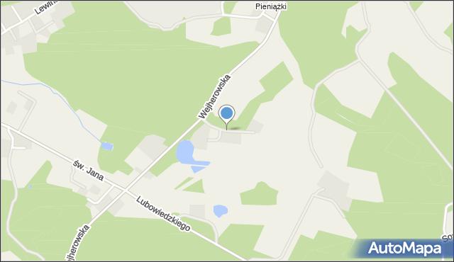 Robakowo gmina Luzino, Myśliwska, mapa Robakowo gmina Luzino