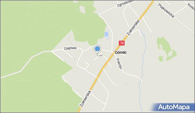 Bytom, Nadziei, mapa Bytomia