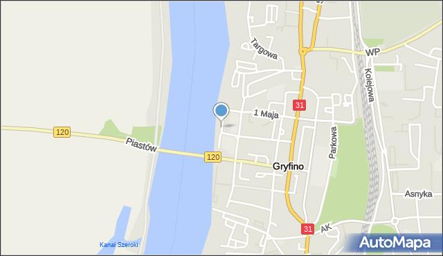 Nadodrzańska Gryfino Ulica 74 100