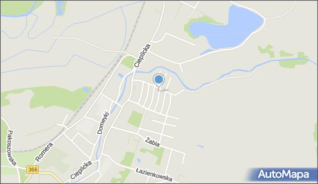 Jelenia Góra, Nałkowskiej Zofii, mapa Jelenia Góra