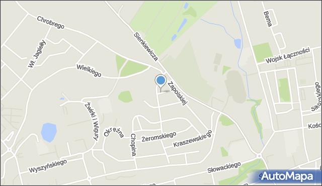 Świecie, Nałkowskiej Zofii, mapa Świecie
