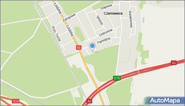 Toruń, Nasza, mapa Torunia