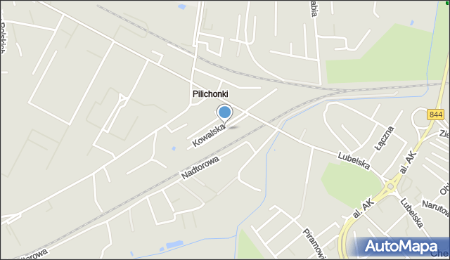 Chełm, Niska, mapa Chełma