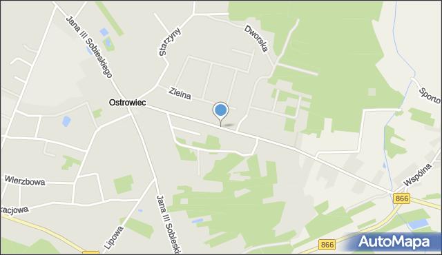 Lubaczów, Niemirowska, mapa Lubaczów
