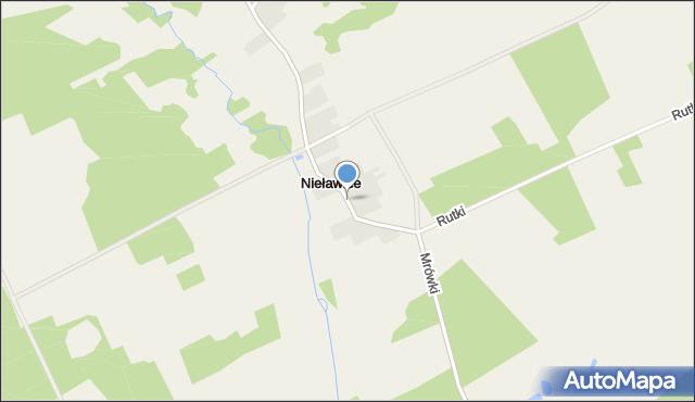 Nieławice, Nieławice, mapa Nieławice