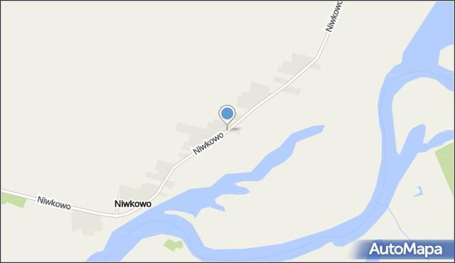 Niwkowo, Niwkowo, mapa Niwkowo