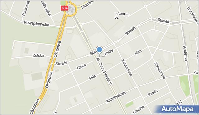 Warszawa, Niska, mapa Warszawy