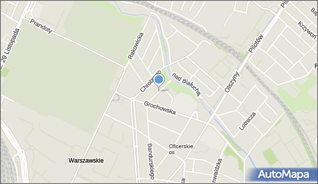 Kraków, Norwida Cypriana Kamila, mapa Krakowa