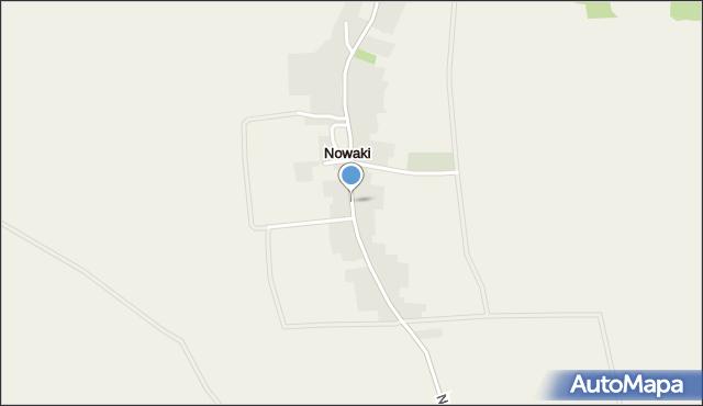 Nowaki gmina Pakosławice, Nowaki, mapa Nowaki gmina Pakosławice