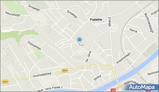 Przemyśl, Noskowskiego Zygmunta, mapa Przemyśla