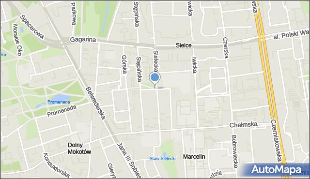 Warszawa, Nowotarska, mapa Warszawy