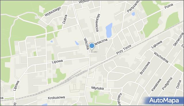 Luzino, Obrońców Poczty Gdańskiej, mapa Luzino