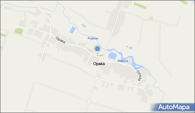 Opaka, Opaka, mapa Opaka