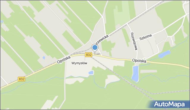 Poniatowa powiat opolski, Opolska, mapa Poniatowa powiat opolski