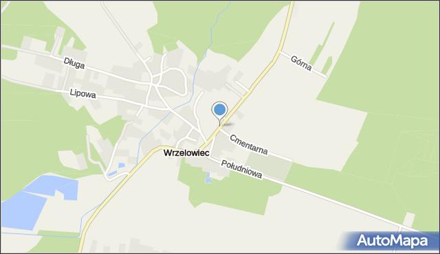 Wrzelowiec, Opolska, mapa Wrzelowiec