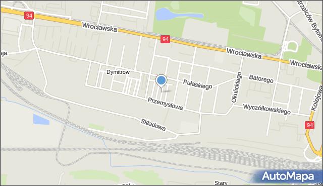 Bytom, Orzeszkowej Elizy, mapa Bytomia