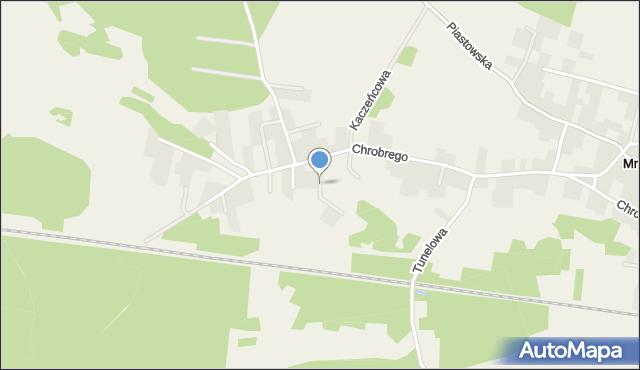 Mrozów, Orla, mapa Mrozów