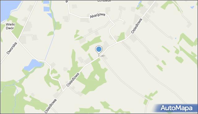 Frydrychowice, Osiedlowa, mapa Frydrychowice