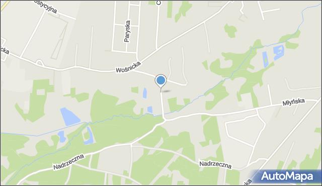 Radom, Owalna, mapa Radomia