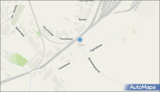 Żurawica powiat przemyski, Owocowa, mapa Żurawica powiat przemyski