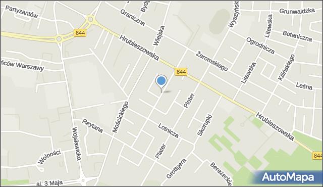 Chełm, Paderewskiego Ignacego Jana, mapa Chełma