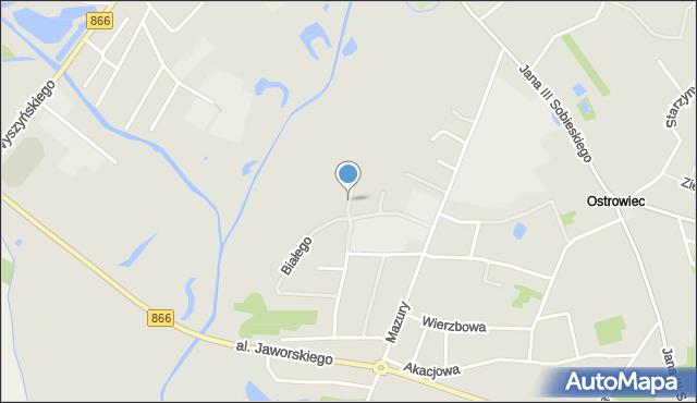Lubaczów, Pakosława, woj., mapa Lubaczów