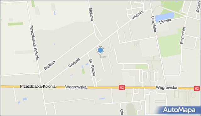 Sokołów Podlaski, Pastelowa, mapa Sokołów Podlaski
