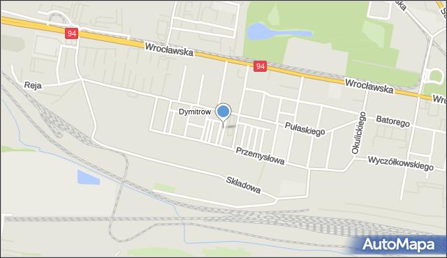 Bytom, Pilotów, mapa Bytomia