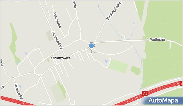 Bytom, Piastów Śląskich, mapa Bytomia