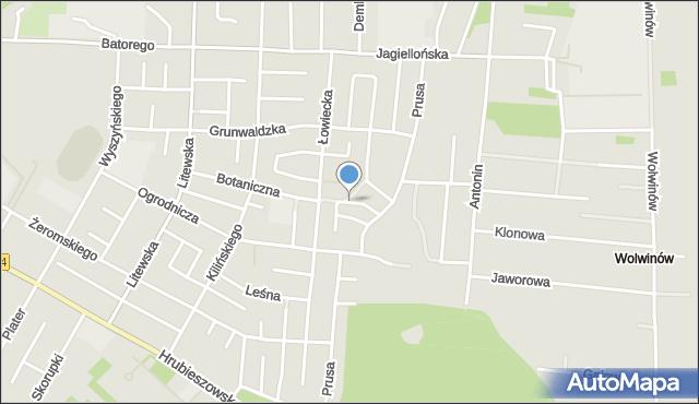 Chełm, Piękna, mapa Chełma