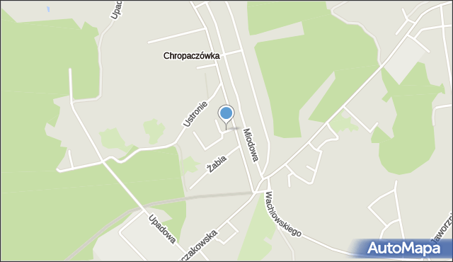 Jaworzno, Piaszczysta, mapa Jaworzno