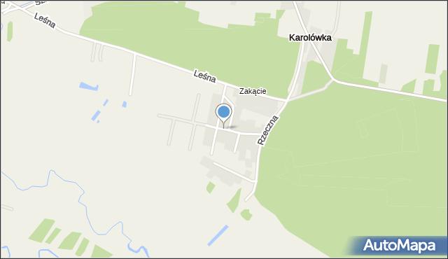 Młodów gmina Lubaczów, Piaskowa, mapa Młodów gmina Lubaczów